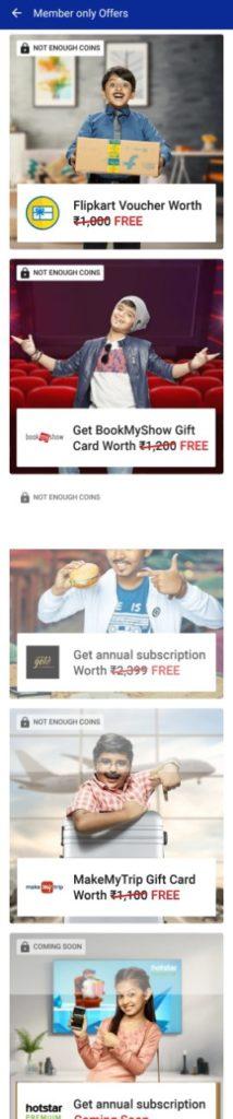 Flipkart Plus Members Offers