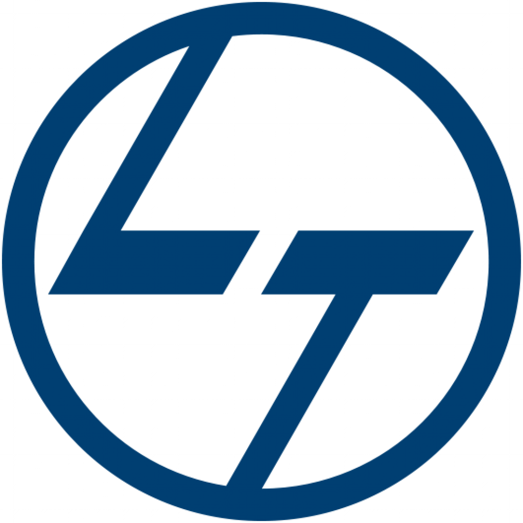 L&T-logo transparent background logo