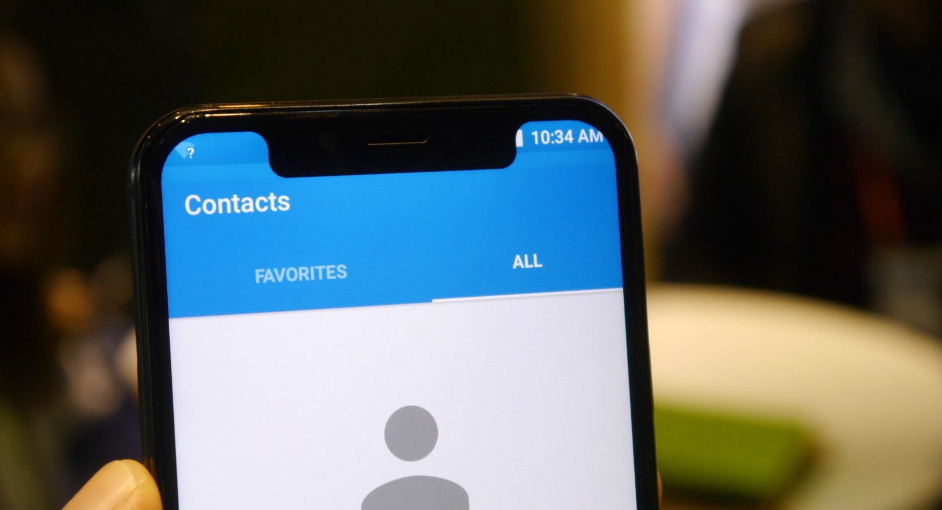 Mobiles with notch
