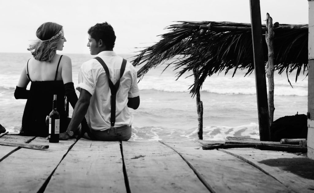 dating couples beach