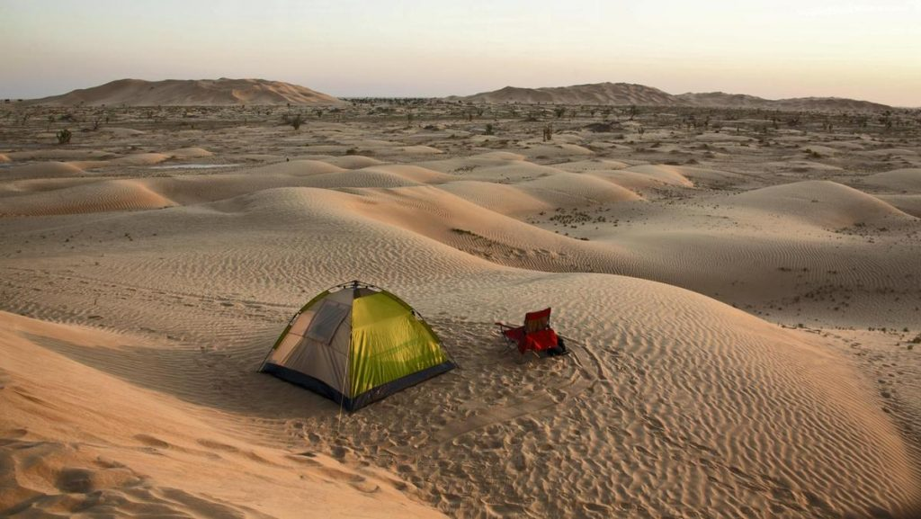 Camping in desert safari DUBAI