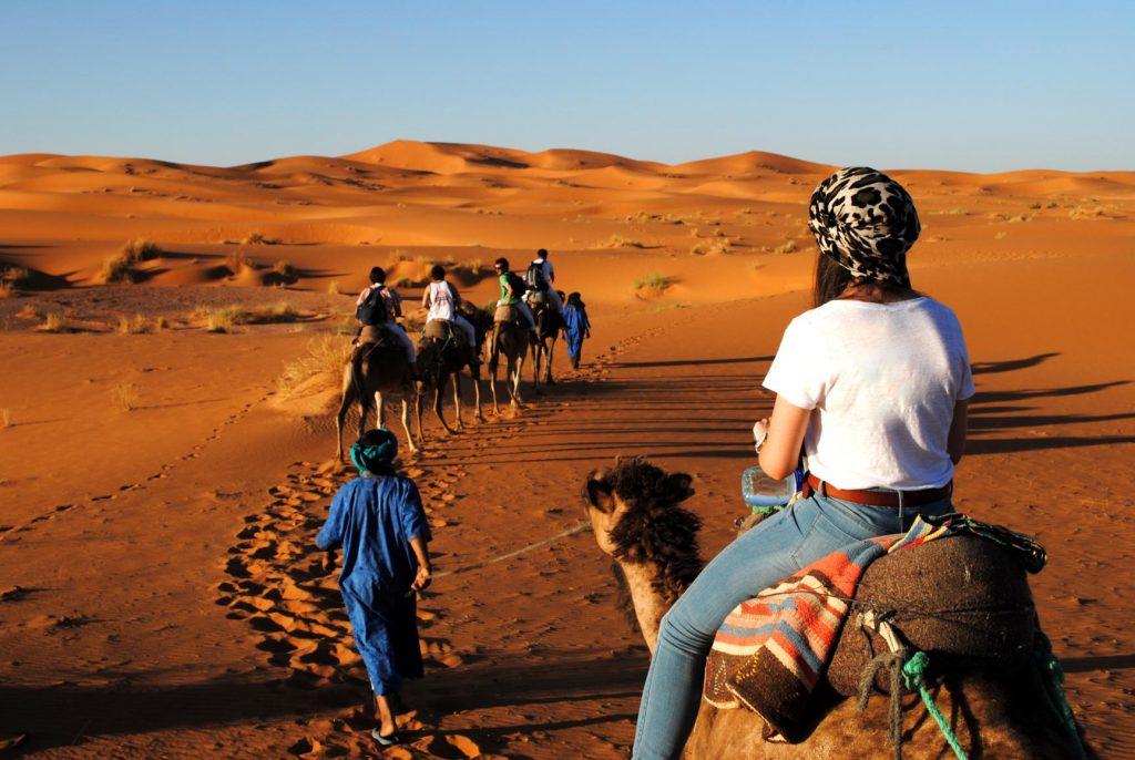 Camel Trek Desert Safari Dubai