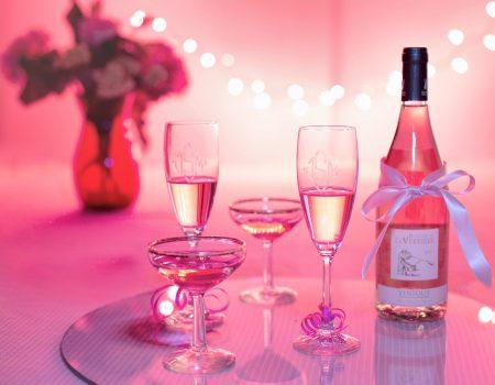 Pink Wine Valentines Day Special