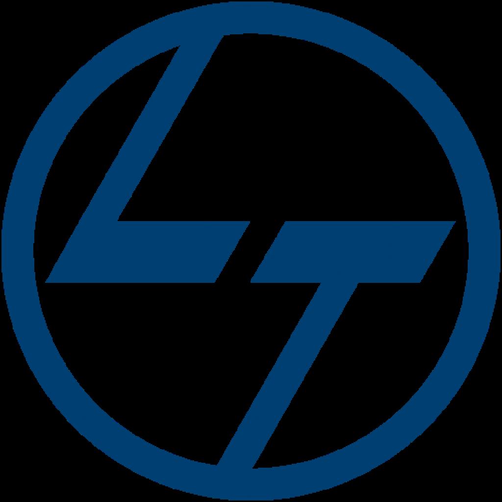 L&T-logo transparent background logo
