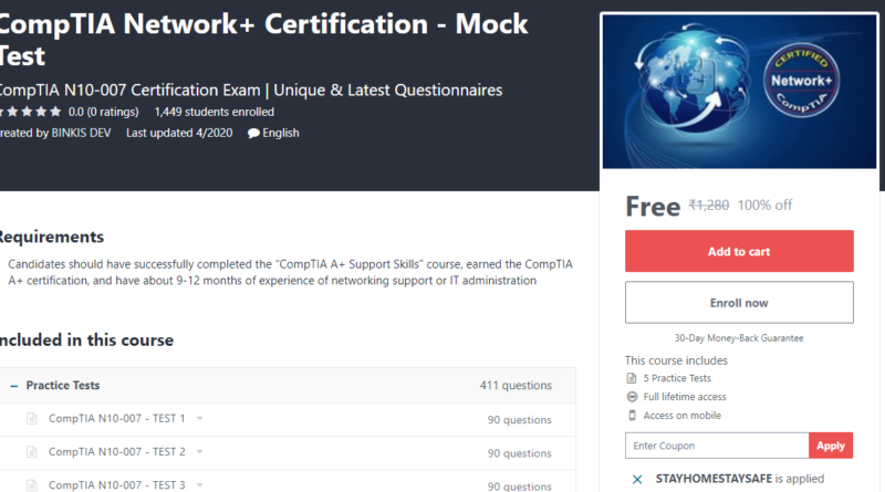 Udemy Paid Courses For Free Covid-19