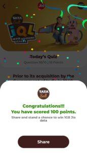 Jio Tata Salt IQL Quiz (2)