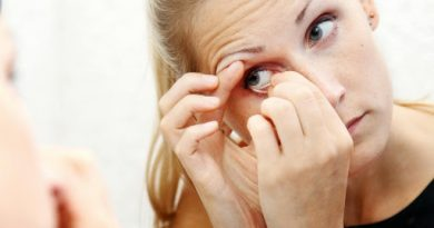 How to Put in Contacts
